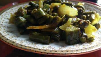 Kasrod (Fiddlehead Fern) Vegetable - Plattershare - Recipes, Food Stories And Food Enthusiasts