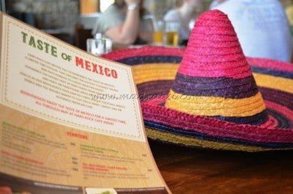 """Hard Rock Caf㩠€"""" Taste Of Mexico €"""" St. Marks Road - Plattershare - Recipes, Food Stories And Food Enthusiasts"""