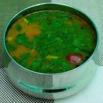 Coriander / Cilantro Rasam (Kothamalli Rasam) - Plattershare - Recipes, Food Stories And Food Enthusiasts