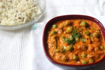 Green Peas Masala Curry - Plattershare - Recipes, Food Stories And Food Enthusiasts
