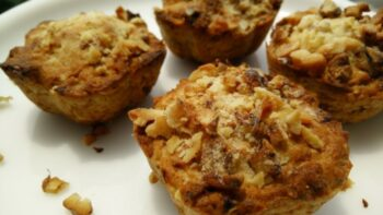 Banana Walnuts Oats Muffins With Philips Airfryer - Plattershare - Recipes, Food Stories And Food Enthusiasts