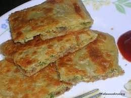 Masala Mughlai Paratha - Plattershare - Recipes, Food Stories And Food Enthusiasts