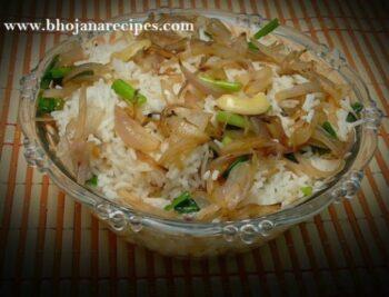 Shahi Onion Pulao