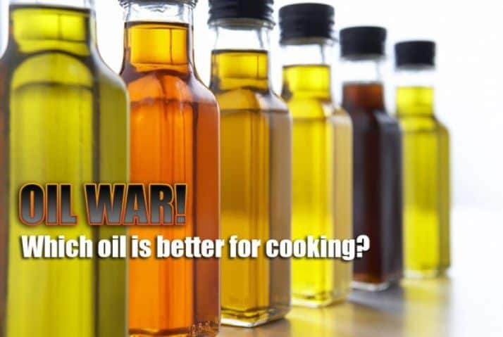 Oil War! Which Oil Is Better For Cooking? - Plattershare - Recipes, Food Stories And Food Enthusiasts