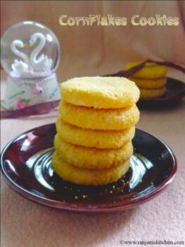 Cornflakes Cookies - Plattershare - Recipes, Food Stories And Food Enthusiasts
