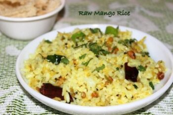 Raw Mango Rice - Plattershare - Recipes, Food Stories And Food Enthusiasts