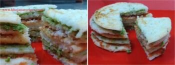 Dosa Sandwich - Plattershare - Recipes, Food Stories And Food Enthusiasts