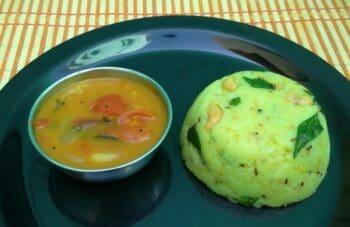 Rava Khara Pongal (Semolina/Sooji Spicy Pongal) - Plattershare - Recipes, Food Stories And Food Enthusiasts