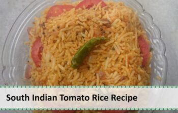 South Indian Tomato Rice - Plattershare - Recipes, Food Stories And Food Enthusiasts