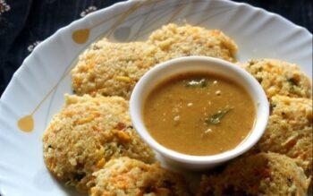 Healthy Vegetable Broken Wheat Idli Or Dalia Idli Or Samba Godhumai Idli - Plattershare - Recipes, Food Stories And Food Enthusiasts