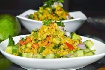 Kache Aam Ka Poha - Plattershare - Recipes, Food Stories And Food Enthusiasts