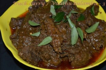 Duck Curry / Vaathu Kulambu - Plattershare - Recipes, Food Stories And Food Enthusiasts