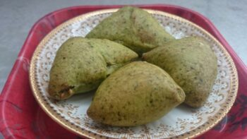 Cocktail Spinach Samosa In Philips Air Fryer - Plattershare - Recipes, Food Stories And Food Enthusiasts