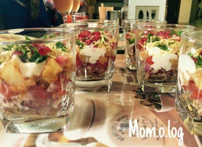 Layered Chaat - Plattershare - Recipes, Food Stories And Food Enthusiasts
