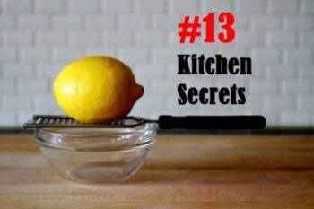 13 Kitchen Secrets For Smart Home-Chefs - Plattershare - Recipes, Food Stories And Food Enthusiasts