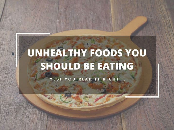 Unhealthy Foods You Should Be Eating - Plattershare - Recipes, Food Stories And Food Enthusiasts