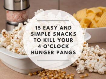 15 Healthy 4 O'Clock Snacks Recipes To Kill Hunger Pangs - Plattershare - Recipes, Food Stories And Food Enthusiasts