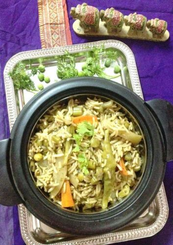 My Signature Dish - Coriander Pulao - Plattershare - Recipes, Food Stories And Food Enthusiasts