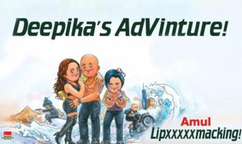 Amul'S Creative Welcome To Vin Diesel And Deepika Padukone - Plattershare - Recipes, Food Stories And Food Enthusiasts