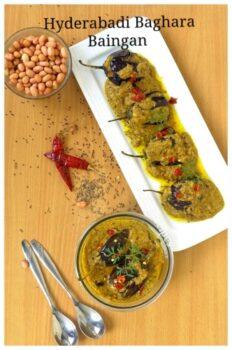 Hyderabadi Baghara/ Bagara Baingan Recipe - Plattershare - Recipes, Food Stories And Food Enthusiasts