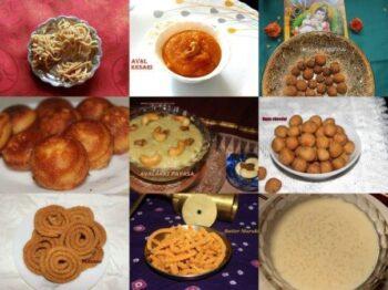 Gokulashtami/Janmashtami/Krishna Jayanthi Recipes - Plattershare - Recipes, Food Stories And Food Enthusiasts