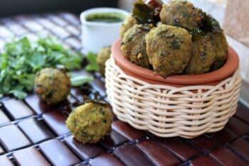 Lapsi Methi Muthia/Broken Wheat And Fenugreek Dumplings - Plattershare - Recipes, Food Stories And Food Enthusiasts