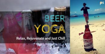 Beer Yoga - Relax, Rejuvenate And Just Chill - Plattershare - Recipes, Food Stories And Food Enthusiasts