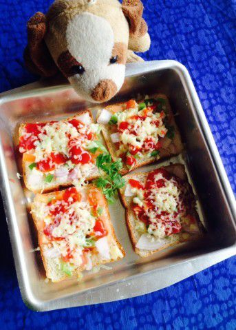 A Piece Of Pizza Kindness! - Plattershare - Recipes, Food Stories And Food Enthusiasts