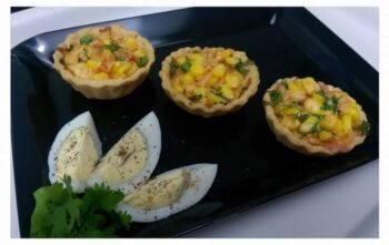 Baked Corn Chaat - Plattershare - Recipes, Food Stories And Food Enthusiasts