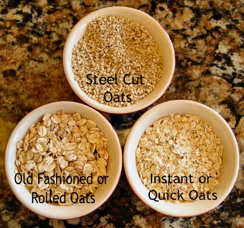 Difference Between Steel-Cut Oats, Rolled Oats And Instant Oats - Plattershare - Recipes, Food Stories And Food Enthusiasts