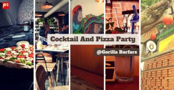 Cocktail And Pizza Party At Gorilla Barfare - Plattershare - Recipes, Food Stories And Food Enthusiasts