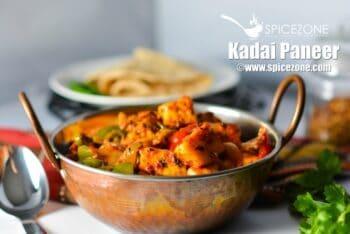 Kadhai Paneer - Plattershare - Recipes, Food Stories And Food Enthusiasts