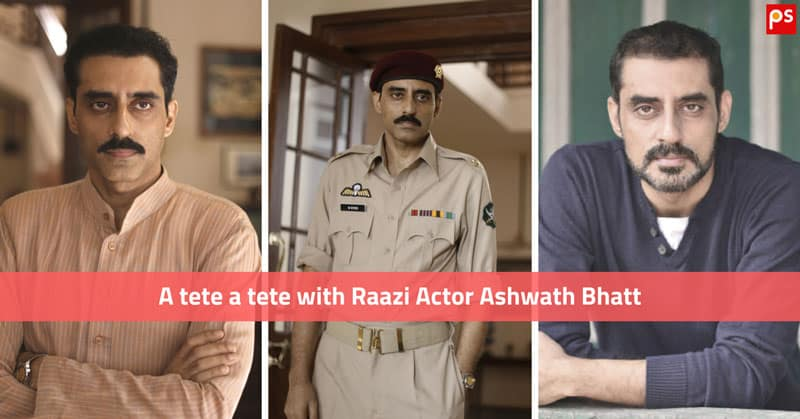 Team Plattershare In A Tete A Tete With Raazi Actor Ashwath Bhatt - His Food Habits, Fitness Advice And More... - Plattershare - Recipes, Food Stories And Food Enthusiasts