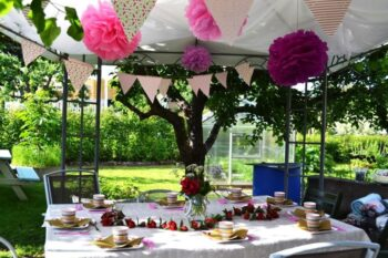 How To Host Stylish Outdoor Events - Plattershare - Recipes, Food Stories And Food Enthusiasts