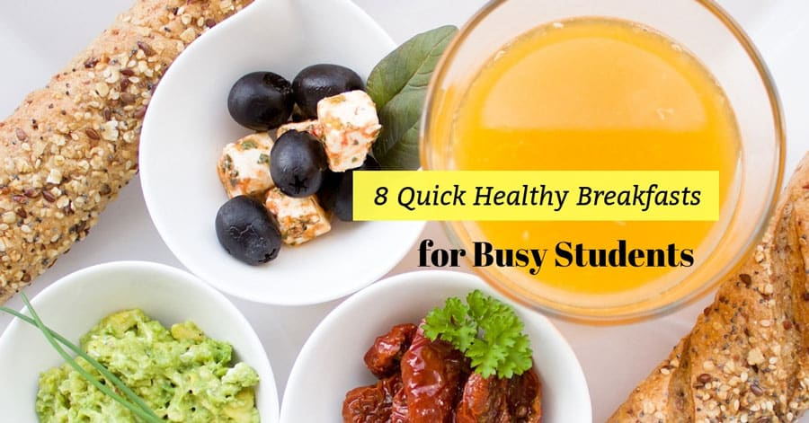 8 Quick Healthy Breakfasts For Busy Students - Plattershare - Recipes, Food Stories And Food Enthusiasts