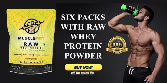 Raw Whey Protein To Build Strong And Good Physique - Plattershare - Recipes, Food Stories And Food Enthusiasts
