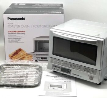 Panasonic Flash Xpress: Review Of The Best Small Toaster Oven (According To Wirecutter And Me) - Plattershare - Recipes, Food Stories And Food Enthusiasts