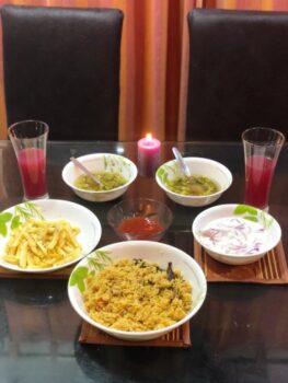 Soya Mushroom Briyani - Plattershare - Recipes, Food Stories And Food Enthusiasts