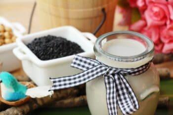 Black Sesame Milk Recipes - Plattershare - Recipes, Food Stories And Food Enthusiasts
