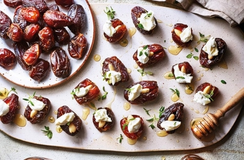 4 Quick-And-Easy Stuffed Dates Recipes - Plattershare - Recipes, Food Stories And Food Enthusiasts