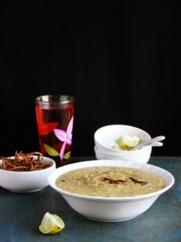 Chicken &Amp; Oats Haleem - Plattershare - Recipes, Food Stories And Food Enthusiasts