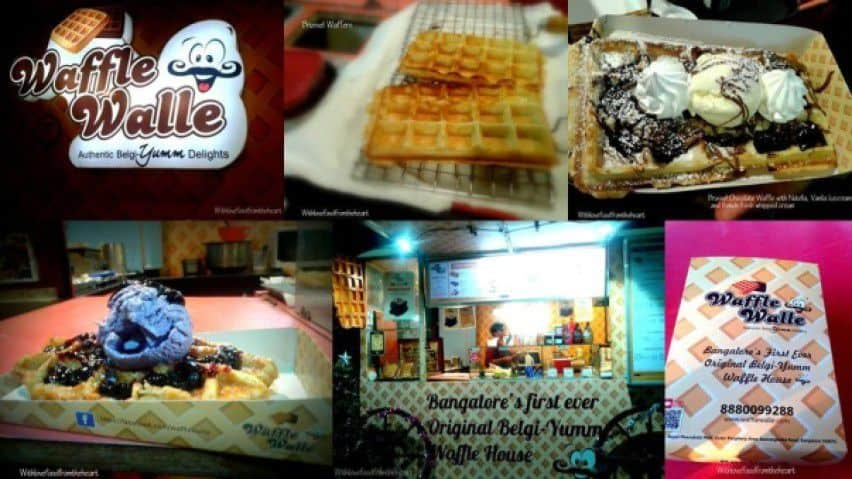 An Evening At Waffle Walle - Plattershare - Recipes, Food Stories And Food Enthusiasts