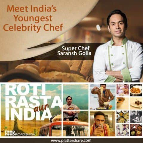 Meet Super Chef Saransh Goila: India'S Youngest Celebrity Chef - Plattershare - Recipes, Food Stories And Food Enthusiasts