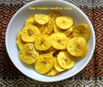 Kerala Raw Banana (Plaintain) Chips Or Nendran Chips - Plattershare - Recipes, Food Stories And Food Enthusiasts