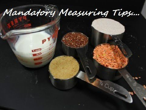 Mandatory Measuring Tips - Plattershare - Recipes, Food Stories And Food Enthusiasts
