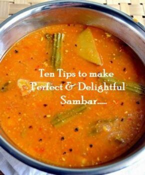 Ten Tips To Make Perfect And Delightful Sambhar - Plattershare - Recipes, Food Stories And Food Enthusiasts