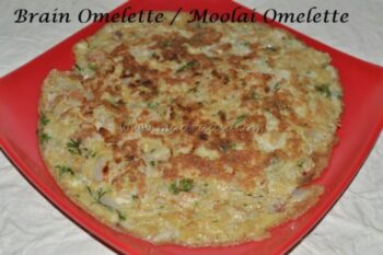 Brain Omelette - Plattershare - Recipes, Food Stories And Food Enthusiasts
