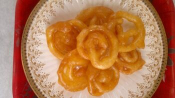 Home Made Jalebi - Plattershare - Recipes, Food Stories And Food Enthusiasts