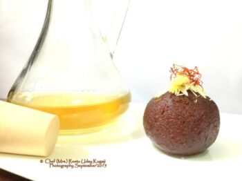 Shahi Gulkand Gulab Jamun - Plattershare - Recipes, Food Stories And Food Enthusiasts