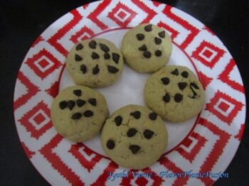 Chocolate Chip Vanilla Cookies - Plattershare - Recipes, Food Stories And Food Enthusiasts
